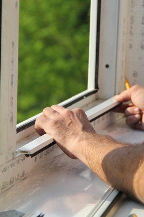 Como executar um talão de substituição em uma janela de plástico?