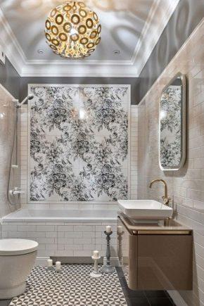 Hur man väljer en panel från kakel på badrummet?