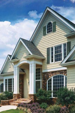 Exteriör Finish Frame House: Hur väljer du lämpligt alternativ?