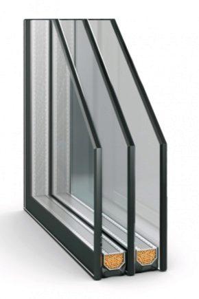 Características das janelas de duas câmaras com vidros duplos