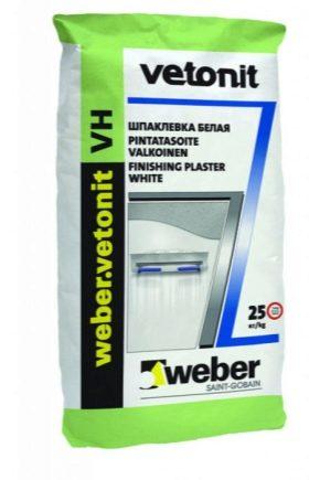 Caractéristiques du mastic résistant à l'humidité Vetonit VH