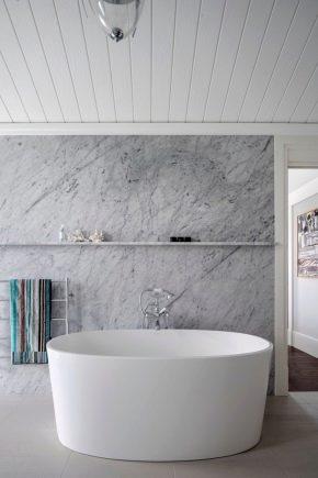 PVC декорация на стена за баня
