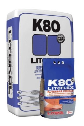 Tile adhesive Litokol K80: technical characteristics and features of the application