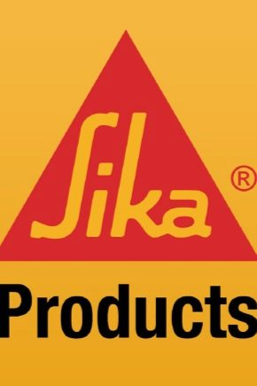 Tillverkare av byggmaterial Sika: val av material för reparation