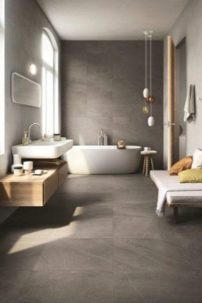 Reparação de casa de banho: decoração de interiores e instalação de canalizações