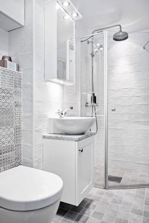 Bathroom in a private house: planning and arrangement