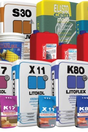 Litokol building mixtures: purpose and variety of the range