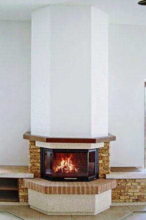 Värmeisolering av eldstäder och spisar: materialvalet