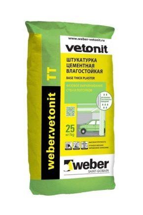 Vetonit TT: types and properties of materials, application