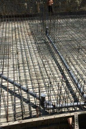 Rinforzo della piastra di fondazione: tecnologia di calcolo e installazione