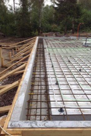 Regole per il calcolo e la costruzione di fondamenta in lastra