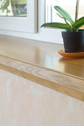 Os peitoris de madeira são práticos e como eles parecem no interior?