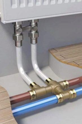Berömda VVS-rör: typer av anslutningar för delar med en diameter på 50 mm AY-96