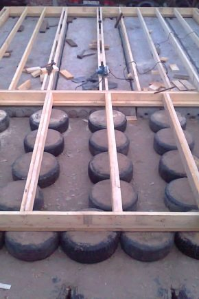 Technology for the construction of the foundation of tires