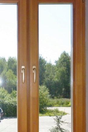 Os detalhes da fabricação de janelas de madeira