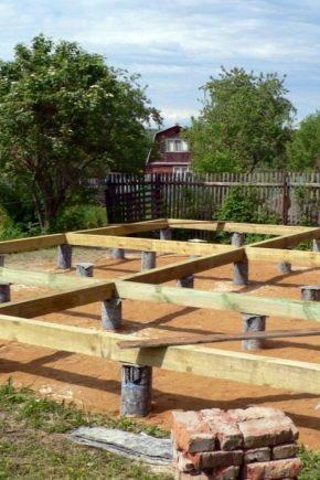 Селекторна и строителна технология на основата за дървена къща
