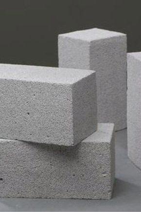 Caratteristiche e dimensioni dei blocchi di schiuma