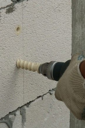 Dowels för luftbetong: typer, funktioner och installationsregler