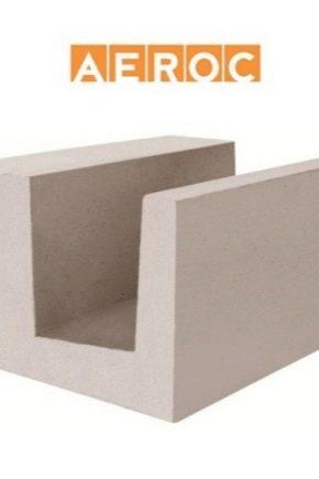 Aeroc aerated betong: egenskaper och användaranvisningar
