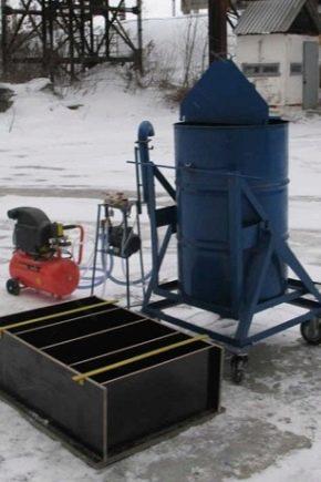La scelta di installazione e produzione di blocchi di schiuma a casa