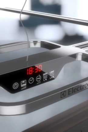 Electrolux hoods: features and types of structures