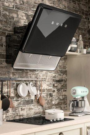 Cappa Smeg: built-in e modello ad isola per la cucina