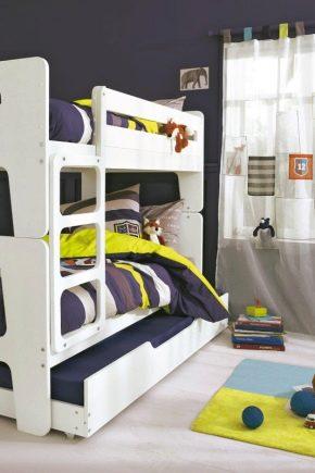 Come Costruire Un Letto A Castello Di Legno.Letto A Castello Ikea Per Bambini 27 Foto Una Costruzione A Due