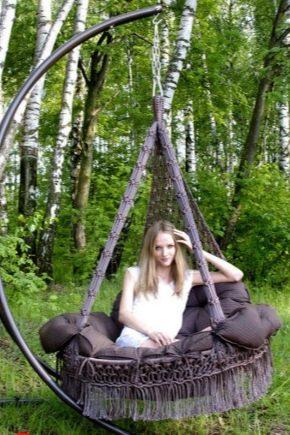 Swing hamacuri: ce este și cum să-l faci singur?