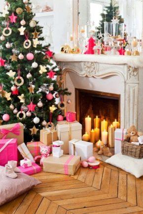 Hur man dekorerar rummet för det nya året?