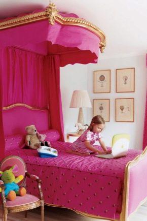 Letto Per Ragazze 51 Foto Culle Serrature Nella Stanza Per La Principessa Set Da Camera Bella Per Bambini 4 7 Anni