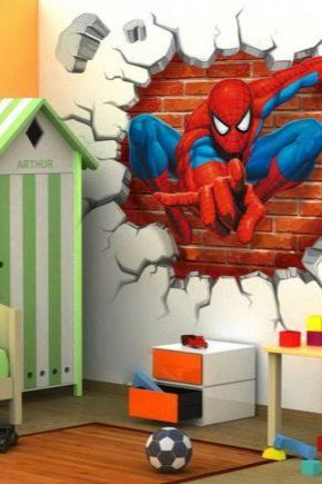 Papel Tapiz En La Habitacion Infantil Para Ninos 73 Fotos Panos