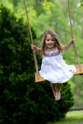 बच्चों के लिए बगीचे स्विंग कैसे चुनें?