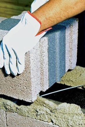 Egenskaper och typer av lätta betongväggar