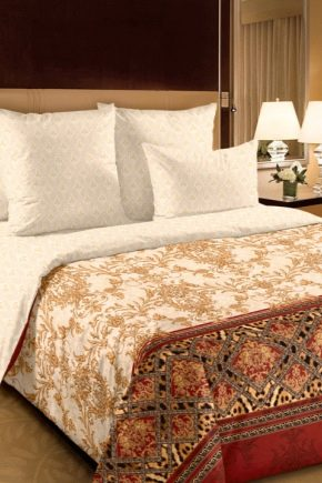 Chita grossa e cetim para roupa de cama: propriedades e diferenças de tecidos