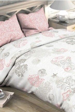 Calico eller poplin - vad är bäst för sängkläder?