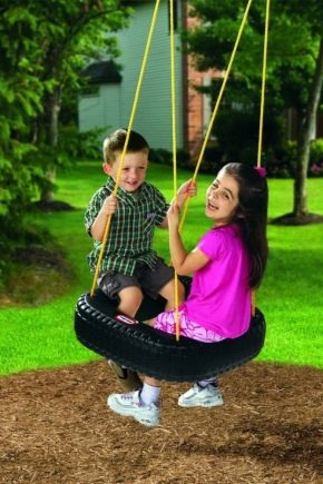 How to make a swing with your own hands?