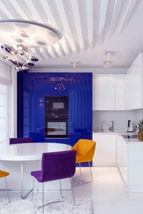 Kitchen-living room: everything about combining the hall and kitchen in one room