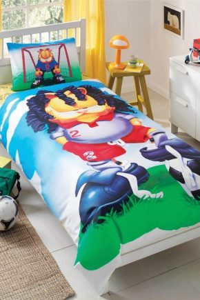बच्चे के बिस्तर के आकार