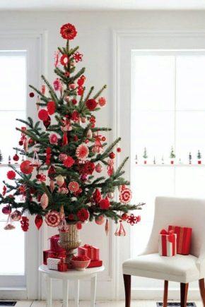 कृत्रिम क्रिसमस पेड़ के आकार