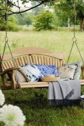 Garden swings: an overview of the range, selection and self-assembly