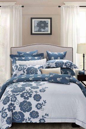 Linge de lit familial: caractéristiques et types d'ensembles