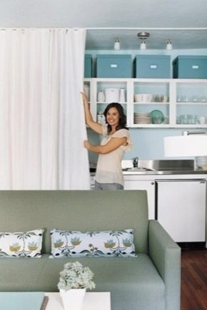 Sätt att zonera kök och vardagsrum