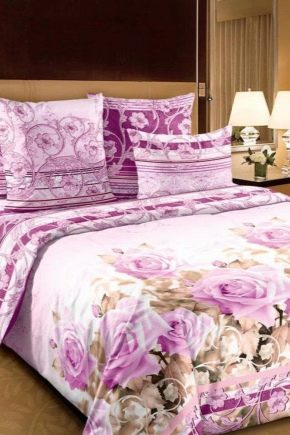 Properties and features of percale for bed linen