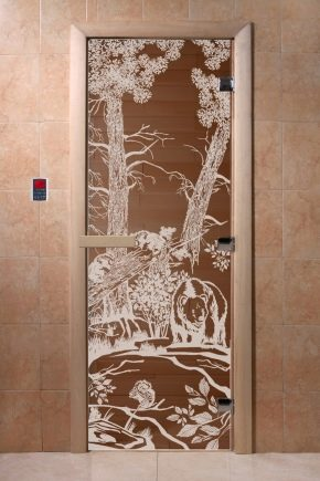 Choose and install fittings for glass doors