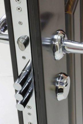 Lås för metalldörrar: Visningar, tips om installation och drift