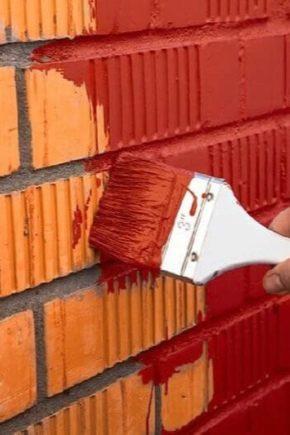 Come dipingere una superficie di mattoni?