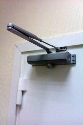 Features of repair door closers
