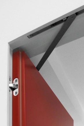 Features hidden door closers