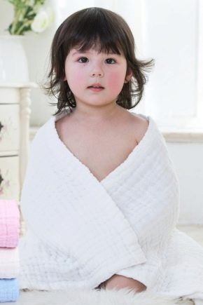Features of the choice of children's towels