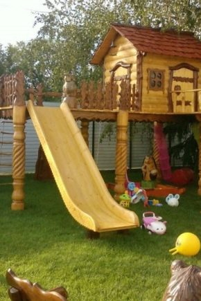 Recommendations for the manufacture of wooden children's slides